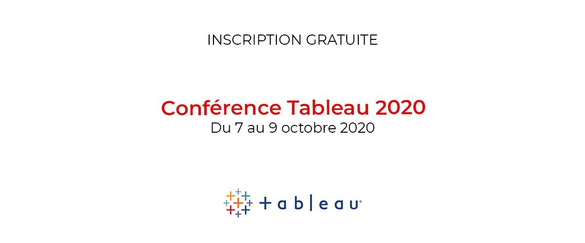 Participez à la Conférence de Tableau 2020