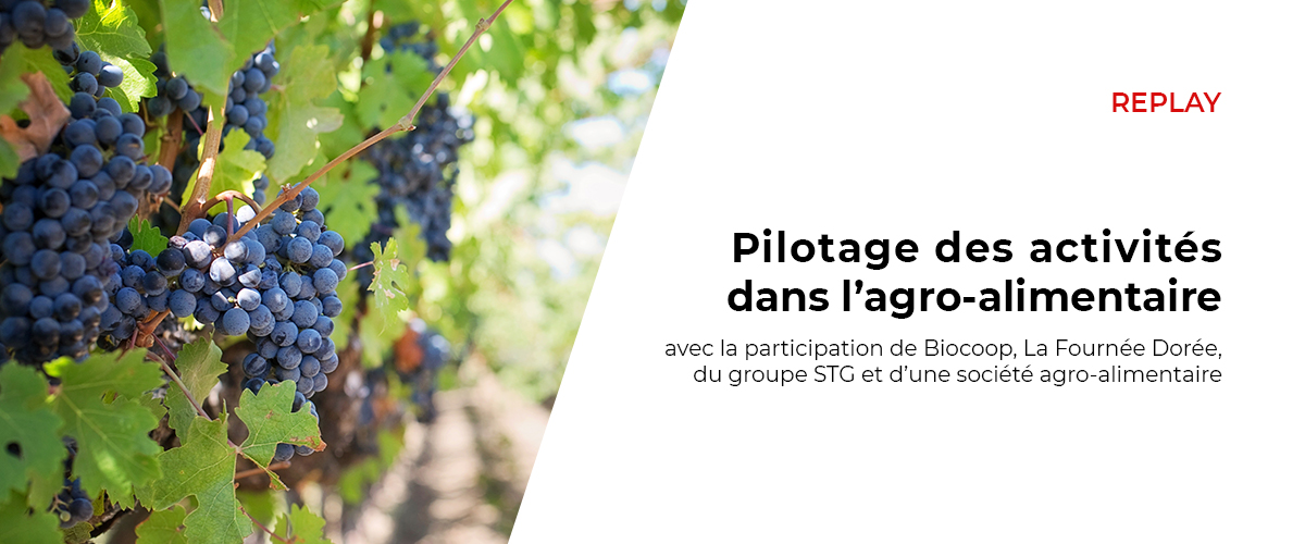 Replay table ronde agro alimentaire